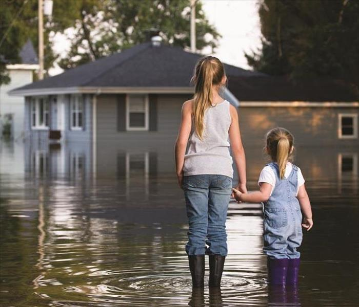 Storm Damage When Storms or Floods hit Central Illinois, SERVPRO is ready!